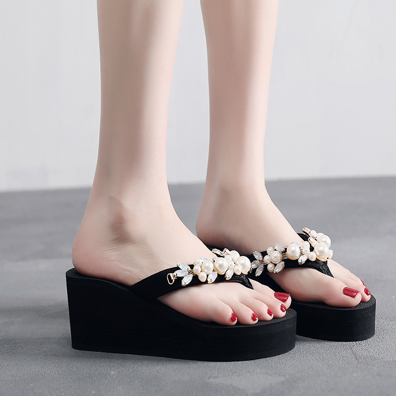 c47cdfbe0aca Detail Feedback Questions about womens Flip Flops 6.5cm heel height ...