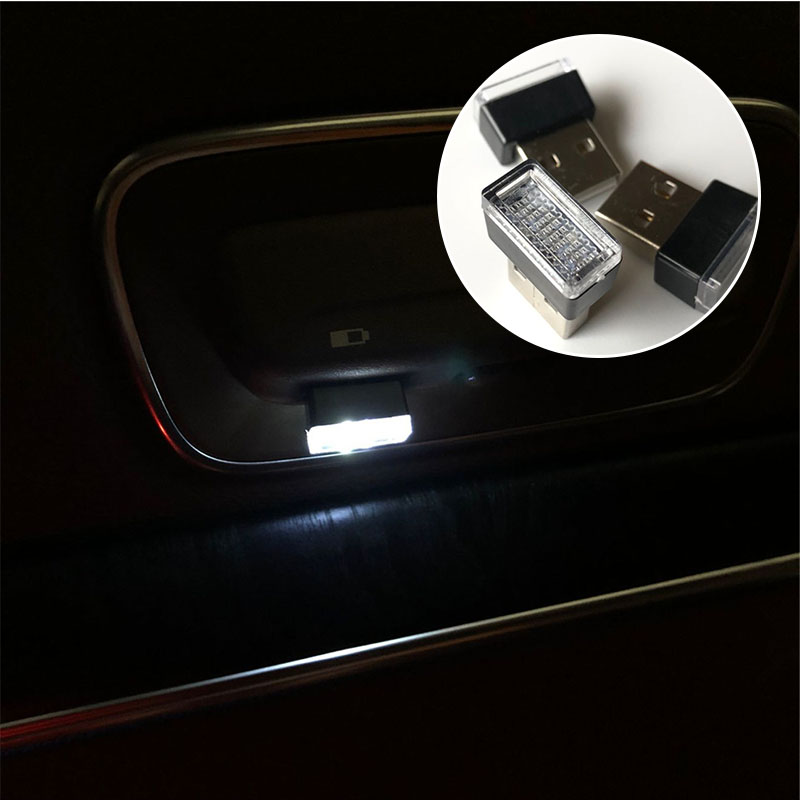 Symbool Van Het Merk 1 Pc Auto-styling Usb Sfeer Licht Voor Chevrolet Volt Malibu Camaro Kobalt Orlando Spark Colorado Bolt Onix Traverse Blazer