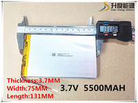 Free Shipping 3 7 V 5500 Mah Tablet Battery Brand Tablet Gm Lithium Polymer Battery 3775131