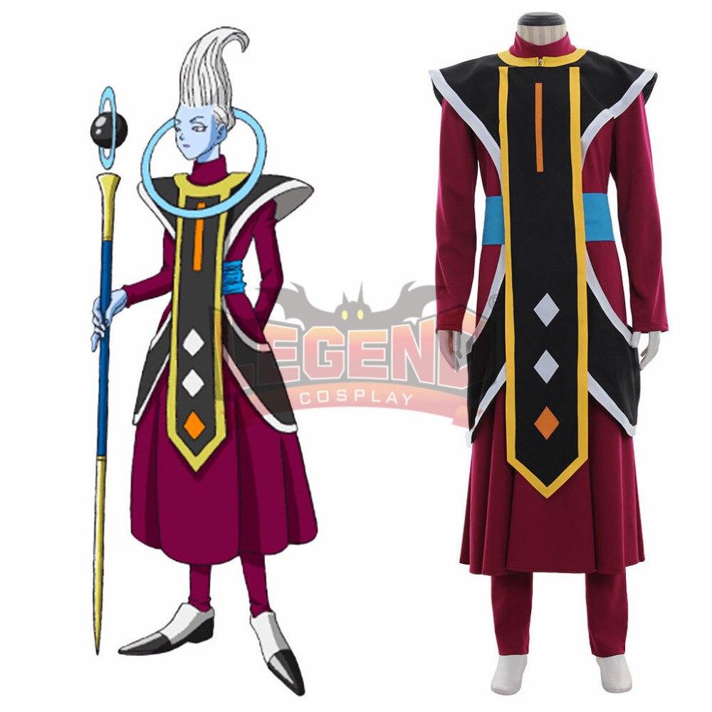 Dragon Ball Super Uisu Whis Costume de Cosplay sur mesure