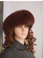 New arrival autumn winter multi color women fox fur headband