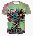 8 Стили Новый Дэдпул Suicide Squad Женщин Мужские Harley Quinn Джокер Футболки 3D футболка Лето Фильм Аниме футболки