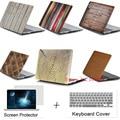 Дерево Чехла Для Apple Macbook 11.6 12 13.3 15.4 Air Pro с Retina ноутбука Протектор Для Mac book 11 12 13 15 дюймов крышка