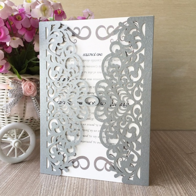 12pcslot free shipping chinese style design new elegant wedding 12pcslot free shipping chinese style design new elegant wedding party birthday invitation card laser stopboris Gallery