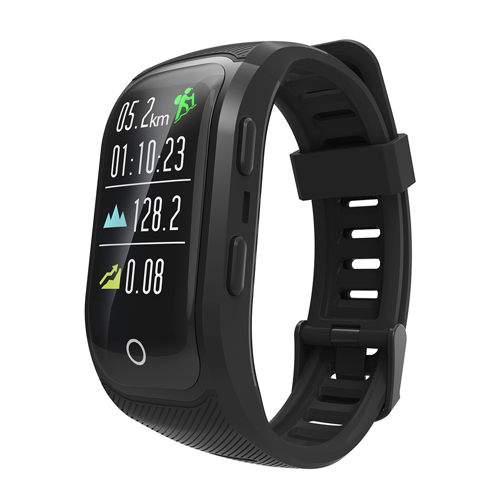 SITOOSHE GPS Color Display Screen IP68 Professional Waterproof Heart Rate Auto LAP Large Favorably Mutual Help and Support цена