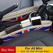 2 шт. автокресло Gap Anti-Leak хранения сумки карман для Mini Cooper One JCW Countryman, Clubman F55 F56 F60 R56 R60 R61 аксессуары