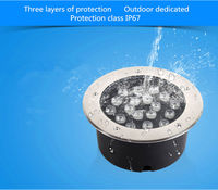 AIBOULLY LLY 522 Led Underground Lights 24W Garden Lawn Lamp 12W Courtyard Lighting Scene Lighting Project Commercial Lighting