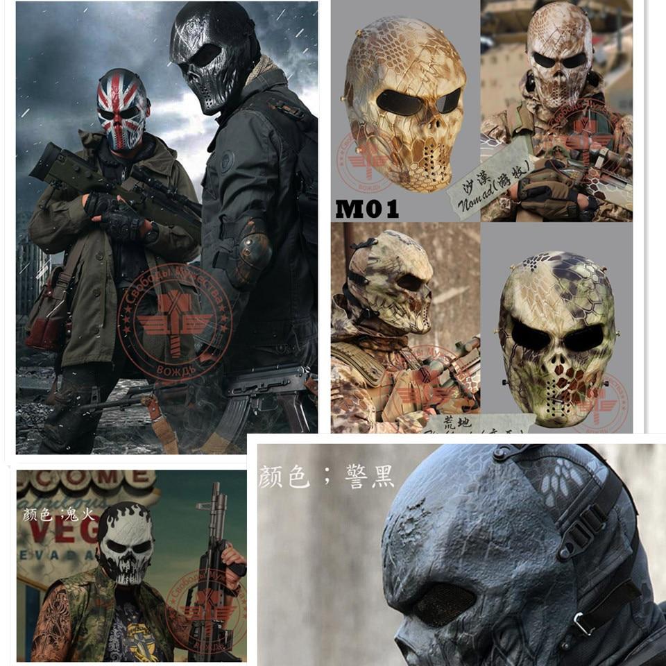 Original Chiefs M06 Mask Paintball Mask Full Face Cool Airsoft Mask Kryptek Nomad & Mandrake ...