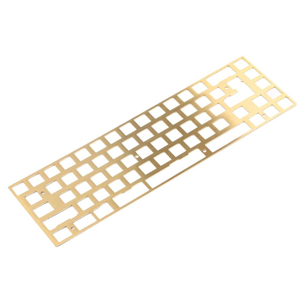 65% Brass Plate Compatiable For KBD65/DZ68 PCB /Tofu65/TADA68 Keyboard