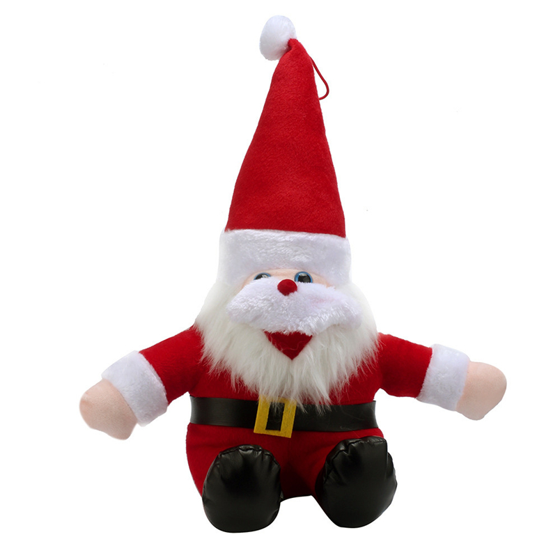 Hiinst plush doll toys 2017 35cm Santa Claus kids toys soft toy Christmas Decorations 1pc*R Drop