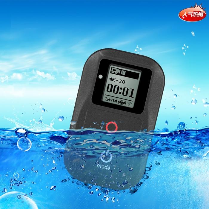 2018 para GoRro a prueba de agua Control Remoto + funda protectora + correa de pecho cordón para Gopro Hero 6 5 4 3 + 3 7 4,5 PERÍODO DE SESIONES Accesorios - 5