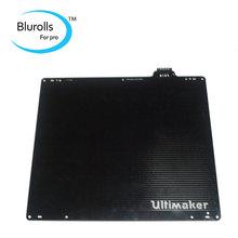 UM 2 impresora 3d Ultimaker 2 & 2 Extendida DIY calienta la cama con Sensor PT100B ultimaker 2 construido de aluminio placa alemania eléctrica