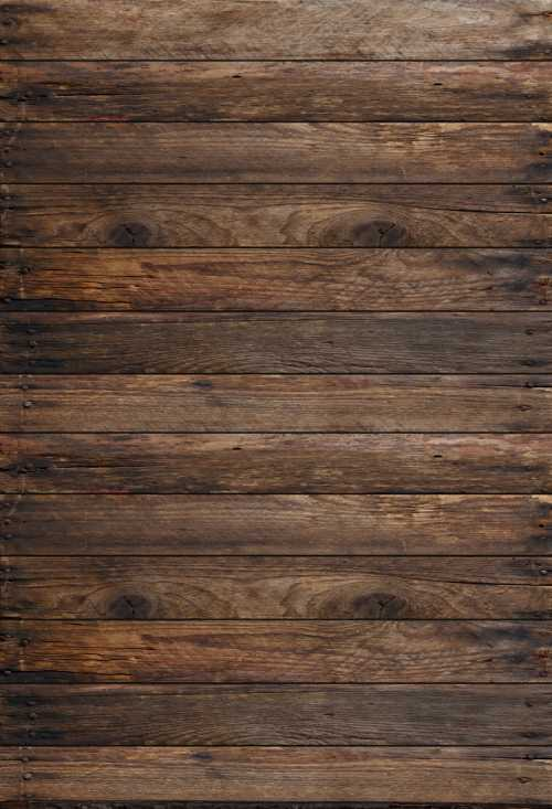 HUAYI Faux Wooden Planks Photo Backdrop Brown Wood Background Children Birthday Party and Newborn Baby Photo Shoot Decoration Studio Props photobooth vinly Fabric US-D-4846-6/×8ft