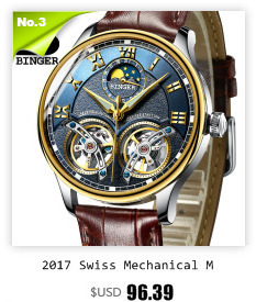 Switzerland watches males luxurious model BINGER enterprise sapphire Water Resistant leather-based strap Mechanical Wristwatches B-1172-Four HTB1N