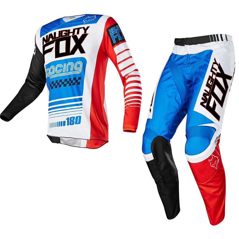 Racing 180 Race Falcon Nirv Jersey Pant Set MX MTB Motocross ATV Dirt Bike Shirt Suit