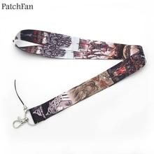 Patchfan Famous Viking neck lanyards for keys glasses card holder bead keychain phones cameras webbing A0313