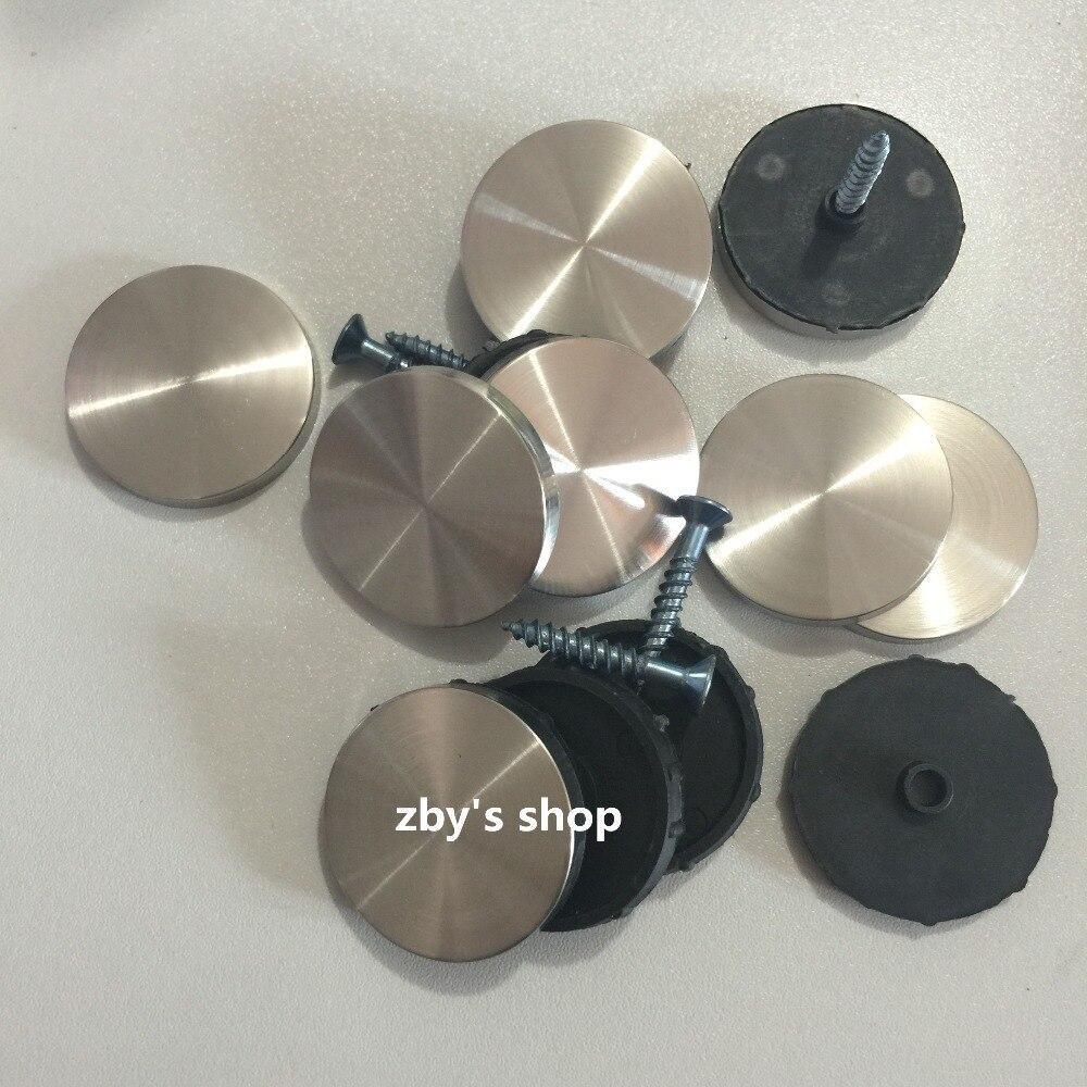 8 шт Замена 30 мм Диаметр крышки металлический винт гвозди для стеклянного зеркала