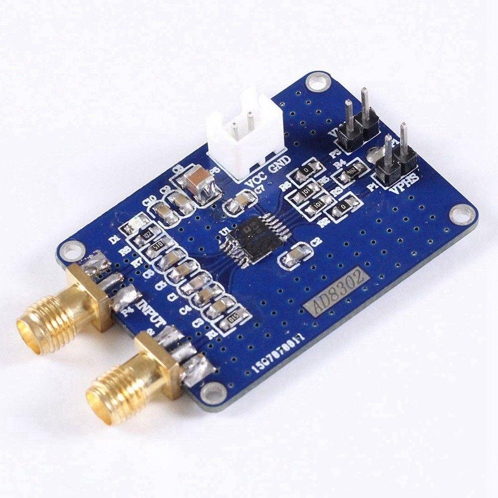 Модуль обнаружения фазы амплитуды AD8302 2,7 ГГц, радиочастотный/IF, детектор фаз, лампа GW 5 В