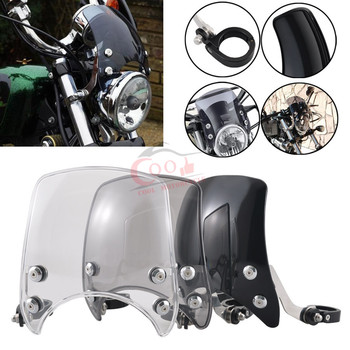 Motorcycle Front Headlight Fairing Shade Mask Wind Deflector Fits for Harley 04-later XL Sportster 1200 883 Iron