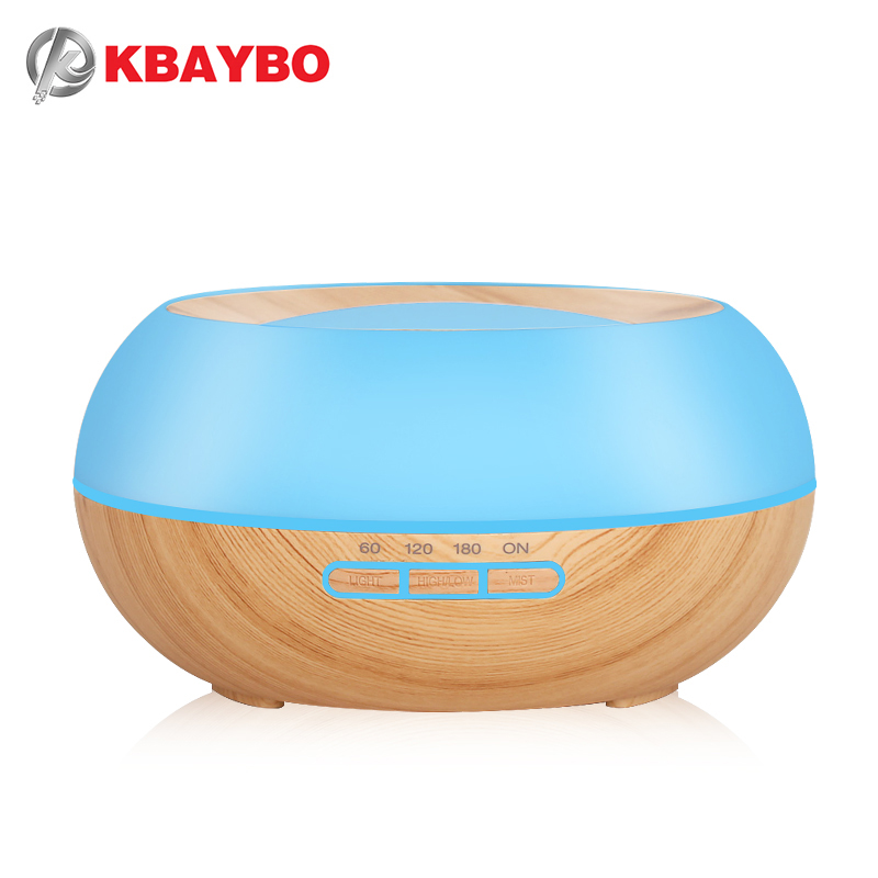 300ml Aroma Essential Oil Diffuser Ultrasonic Cool Mist Humidifier LED Night Light for Office Home Bedroom Living Room Yoga SPA 300ml colors changable led light essential oil aroma diffuser ultrasonic air humidifier mist maker for home& bedroom