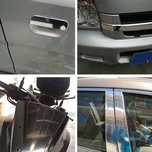 Image 4 - Lámina de vinilo cromado para espejo de coche lámina adhesiva de 100x30CM para revestimiento DIY, accesorios de estilismo para automóviles, motocicletas, camiones y automóviles