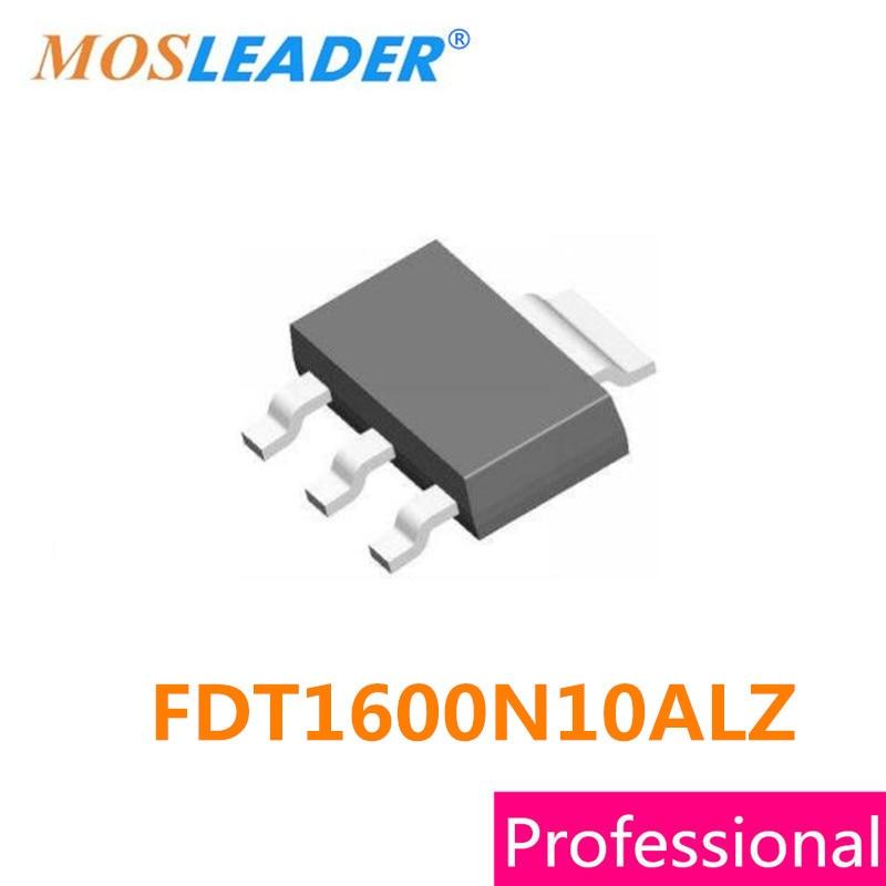 SMD FDT1600N10ALZ SOT223 100 шт. 100 В 5.6A FDT1600N10 FDT1600N10A FDT1600N10AL n-канальный PDF внутри