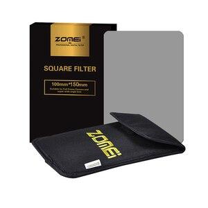 Image 4 - Квадратный фильтр Zomei 100 мм x 150 мм, градиентный Серый фильтр с нейтральной плотностью GND248 ND16 100 мм * 150 мм 100x150 мм для фильтра серии Cokin для Cokin