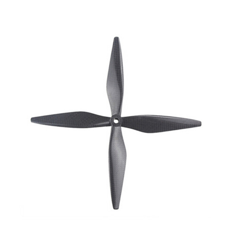 Sunnylife 2pairs DJI 1038 Propeller 1038 Carbon Fiber 10x3.8 8mm CF Props Blades 10inch For DJI F450 F550 Drone Quadcopter