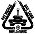 [WTK007]Car decals 14cm x 14cm World of Tanks one world one tank motorcycle car stickers waterproof stickers