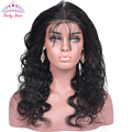 8A Pre-Plucked 360 Lace Frontal with Baby Hair Peruvian Body Wave 360 Lace Frontal Closure 360 Lace Virgin Hair Natural Hairline