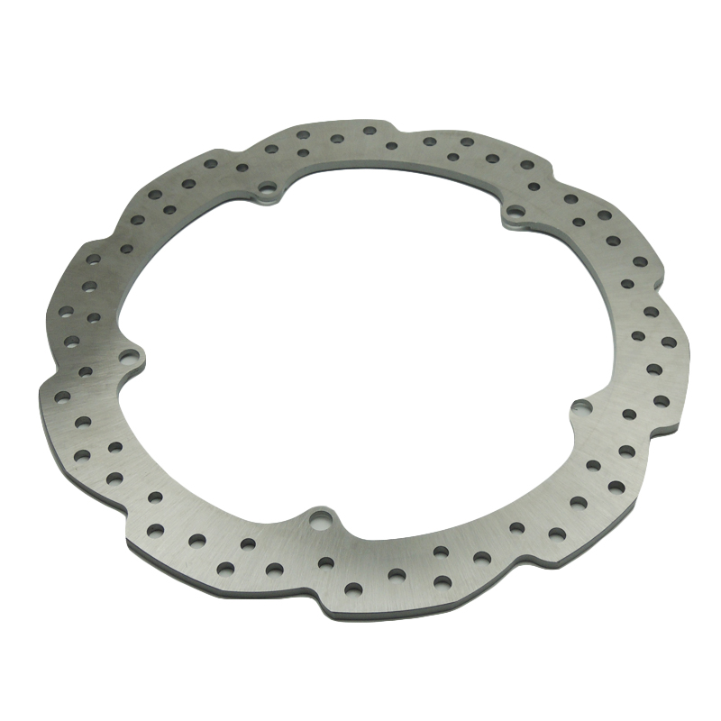 For Honda NC700X NC700S NC750X NC750S CTX700 NC700D Integra Motorcycle Accessories Front Wheel Brake Disc Rotor OD 320mm 2016 for honda nc700 nc750 ctx700 nm4 vultus motorcycle accessories rear wheel brake disc rotor od 240mm stainless steel