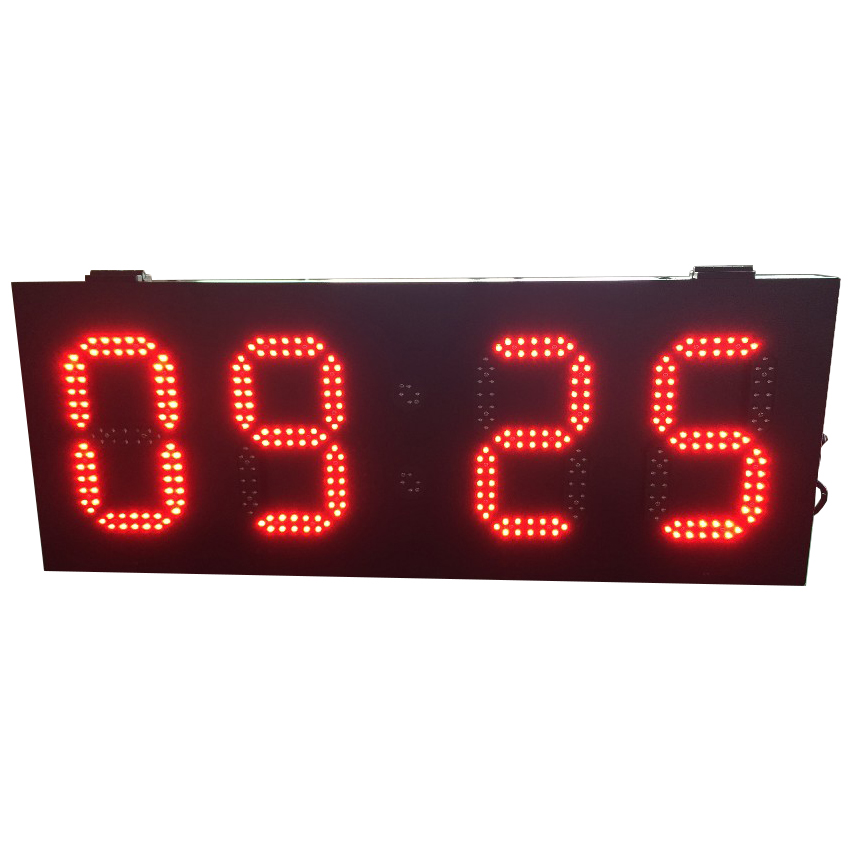 High Brightness Outdoor P8 800x305mm Led Temperature Time Screen 6'' 8'' 10'' 12'' 15'' LED Lamp For Led Display Screen