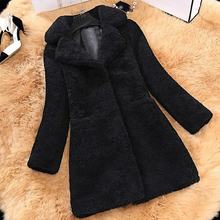 Female Fashion Women Woolen Coats High Elegant Long Slim Win