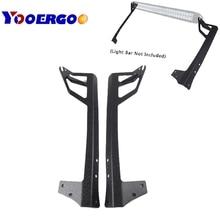for Jeep Wrangler JK Windshield Mounting Brackets fit for 52 Inch LED Light bar