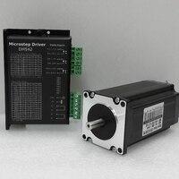 NEMA 23 CNC Kits Micro Stepper Driver AC24V 50V 2 Phase Easy Stepper Motor 1Nm Torque 1.8 Degree 3A for CNC Engraving Machine