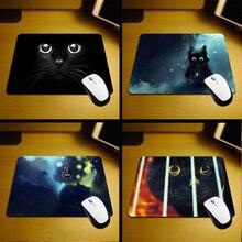 MaiYaCa 2017 Vente Chaude Noir Nouveau Petite Taille Souris Pad Non-Skid Caoutchouc Pad 220mm X 180mm X 2mm et 250mm x 290mm x 2mm