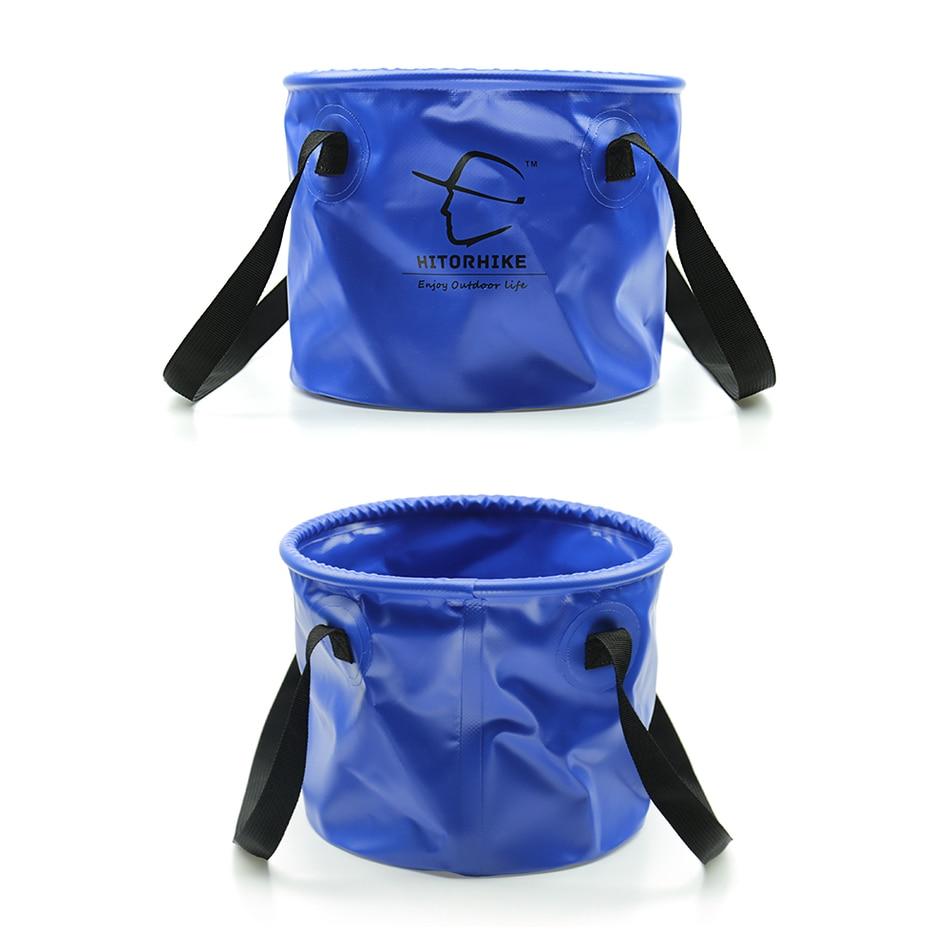 Outdoor Travel Foldable Folding Camping Washbasin Basin Bucket Bowl Washing15!VX