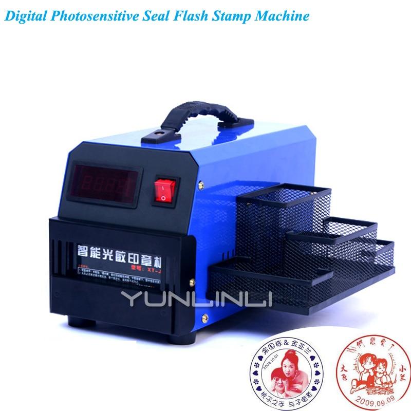 Светочувствительная тиснения цифровых экспозиции вспышки лампы небольшой штамп машина для Бизнес уплотнения принятия печать XT-J3