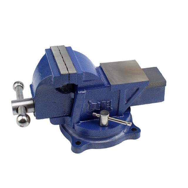 "3/4/5/6"" heavy duty cast iron bench vise workshop bench clamp"