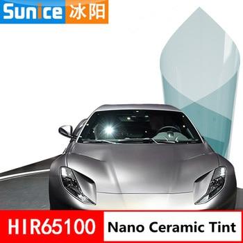 SUNICE VLT65% Blue Auto Car Sunshade Vinyl Film 99% UV Proof Car Home Tinting Solar Protection Car Window Tint Summer Use