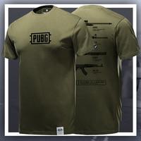 Limited Editon Playerunknowns Battlegrounds T shirt PUBG Short sleeve T shirts