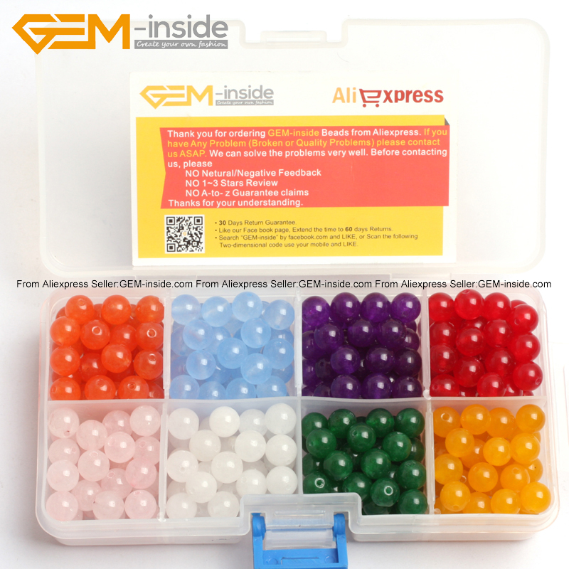 Cat <font><b>Eye</b></font> Glass Beads For Jewelry Making Beads Kit 8 Color in One Box 8mm 15inches DIY Jewellery FreeShipping Wholesale Gem-inside