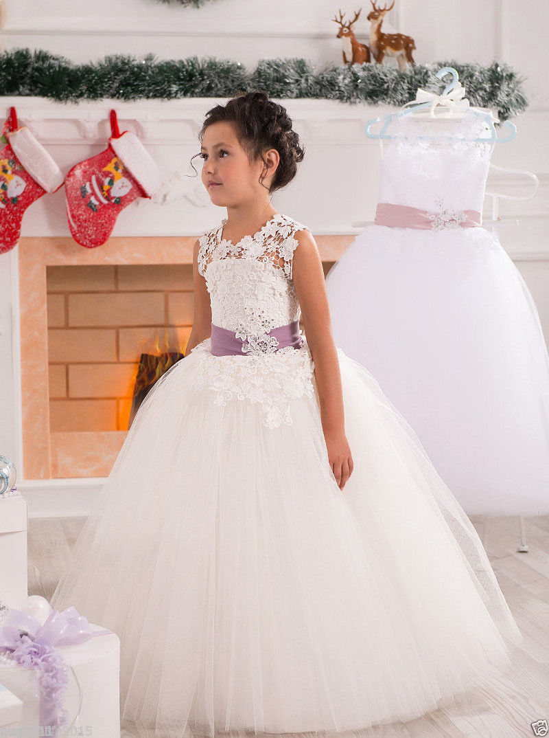 Flower     Girl     Dresses   for Birthday Party Wedding Pageant Prom   dress