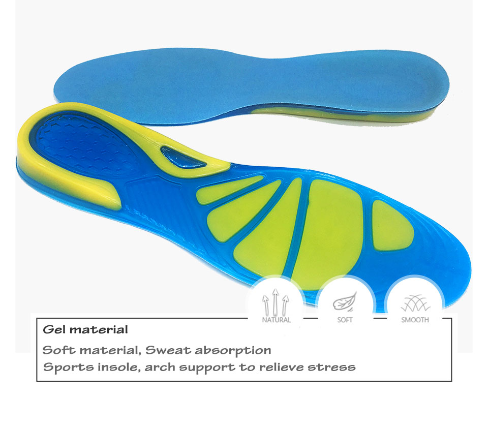 High Quality Silicone Sports insoles details 2