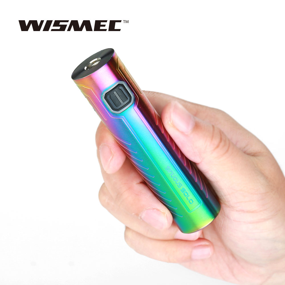 Original WISMEC SINUOUS SOLO Batterie 2300 mah mit Bypass Modus & Konstante Ausgang Elektronische Zigarette Batterie Mod Vs SINUOUS P80