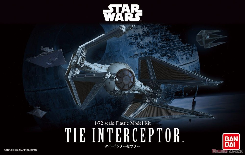 Star Wars Special Forces Tie Fighter 1//72 scale model kit Bandai U.S seller