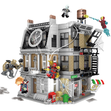 1072pcs Building Blocks Toy Compatible With Legoingly Marvel Avengers Sanctuary Duel Bricks Birthday Gifts Technic City Series lepin star assembling wars building blocks marvel toy compatible with 10467 educational birthday christmas gifts