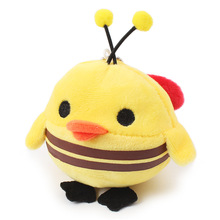 Hot sale Cute pet dog toys Fleece Bee Chick Dogs Toys for chihuahua Yorkshire puppy Squeak Toys dog chew toy Free shipping PD170