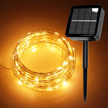 LED Outdoor Solar Lamps/USB 10m/20m/30m LED String Lights Fa