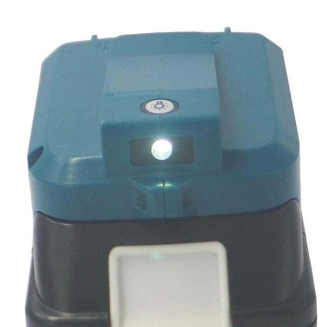 ADP05 לקיטה BL1430 BL1440 BL1830 BL1840 USB טעינת מתאם ממיר כלים סוללות חשמל בנק לחייב את טלפון Ipad